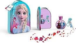 Parfémy, Parfumerie, kosmetika Disney Frozen II - Sada (edt/100ml + lipgloss/6ml + bag)