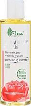 Parfémy, Parfumerie, kosmetika Harmonizující masážní olej s růží - Ava Laboratorium Aromatherapy Massage Harmonizing Massage Oil Rose