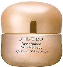 Parfémy, Parfumerie, kosmetika Noční krém na obličej - Shiseido Benefiance NutriPerfect Night Cream