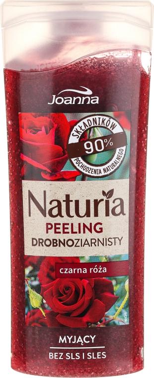 """Jemný peeling do sprchy """"Černá růže"""" - Joanna Naturia Peeling"""