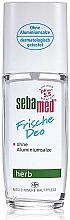 Parfémy, Parfumerie, kosmetika Deodorant - Sebamed Frische Deo Herb Deodorant Spray