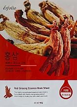 Parfémy, Parfumerie, kosmetika Látková maska s extraktem ženšenu - Esfolio Red Ginseng Essence Mask Sheet