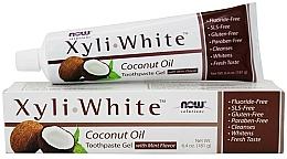 Parfémy, Parfumerie, kosmetika Zubní pasta gel s kokosovým olejem - Now Foods XyliWhite Coconut Oil Toothpaste Gel