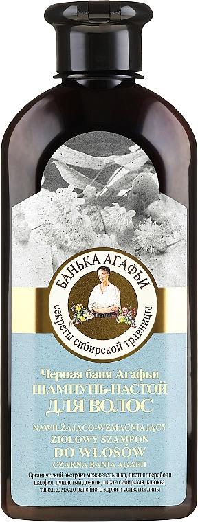Šampon-infuze pro vlasy Černá lázeň Agafyy - Recepty babičky Agafyy Lázeň Agafií