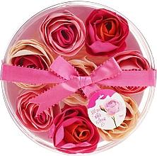 Parfémy, Parfumerie, kosmetika Konfety do koupele Růže, 8ks. - Spa Moments Bath Confetti Rose