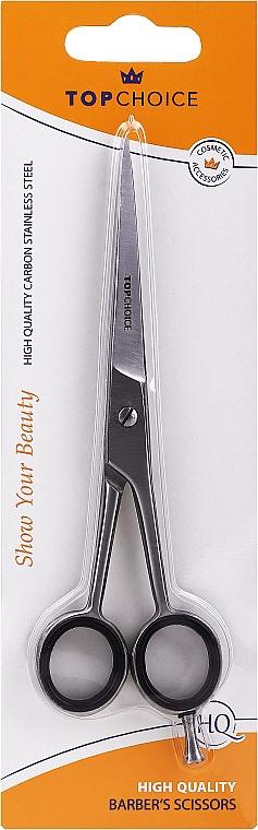 Matné kadeřnické nůžky 15.5/17 sm, velikost L, 20322 - Top Choice