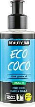 Parfémy, Parfumerie, kosmetika Přírodní tělový olej s kokosem - Beauty Jar Eco Coco