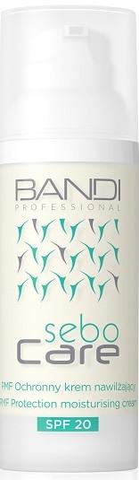 Hydratační denní krém na obličej - Bandi Professional Sebo Care PMF Protection Moisturising Cream SPF 20 — foto N2
