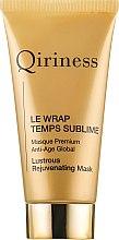 Parfémy, Parfumerie, kosmetika Globální omlazující maska proti stárnutí - Qiriness Le Wrap Temps Sublime Masque Premium Anti-Age Global