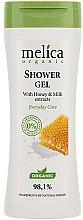 Parfémy, Parfumerie, kosmetika Sprchový gel mléko a med - Melica Organic Shower Gel