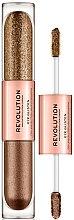 Parfémy, Parfumerie, kosmetika Tekuté oční stíny - Makeup Revolution Eye Glisten