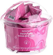 Parfémy, Parfumerie, kosmetika Maska s kalamínovým pudrem pro mastnou pleť - Ayoume Enjoy Mini Wash-Off Pack