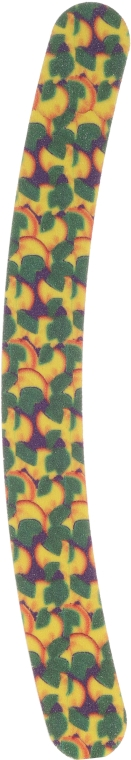 Pilník na nehty 7453, fialový, se zelenými a žlutými vzory - Top Choice — foto N1