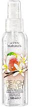 Parfémy, Parfumerie, kosmetika Tělový sprej Broskev - Avon Naturals Peach