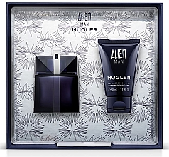 Parfémy, Parfumerie, kosmetika Mugler Alien Man Gift Set - Dárková sada (edt/50ml+b/shm/50ml)