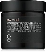 Parfémy, Parfumerie, kosmetika Hlína na vlasy s extra silnou fixací - Oway Man Raw Mud