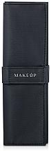 Parfémy, Parfumerie, kosmetika Pouzdro pro 5 štětců, černé Basic - Makeup