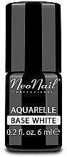 Parfémy, Parfumerie, kosmetika Bílá podkladová báze pod gel lak - NeoNail Professional Aquarelle Base White