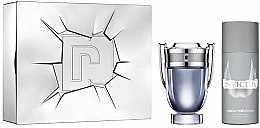 Parfémy, Parfumerie, kosmetika Paco Rabanne Invictus - Sada (edt/100ml + deo/spr/150ml)