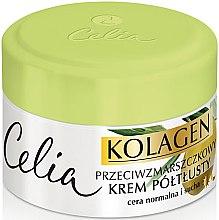Parfémy, Parfumerie, kosmetika Krém obohacený od vrásek pro normální a suchou pleť - Celia Collagen Cream