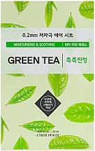Parfémy, Parfumerie, kosmetika Ultra tenká pleťová maska s extraktem ze zeleného čaje - Etude House Therapy Air Mask Green Tea