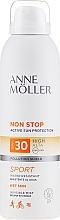 Parfémy, Parfumerie, kosmetika Opalovací sprej pro tělo - Anne Moller Non Stop Active Sun Invisible Mist SPF30