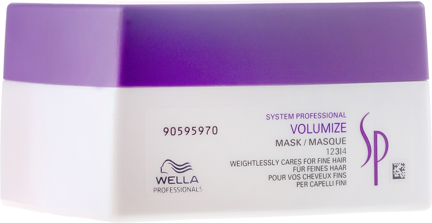 Maska pro objem vlasů - Wella Professionals Wella SP Volumize Mask