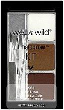Parfémy, Parfumerie, kosmetika Sada na obočí - Wet N Wild Ultimate Brow Kit