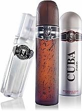 Cuba Black - Sada (edt/100 ml + deo/200 ml + ash/lot/100 ml) — foto N3