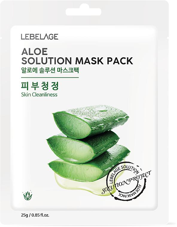 Pleťová maska látková Aloe - Lebelage Aloe Solution Mask