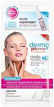 Parfémy, Parfumerie, kosmetika Maska-sérum na obličej - Dermo Pharma Skin Lightening