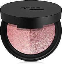 Parfémy, Parfumerie, kosmetika Dvoubarevná tvářenka - Aden Cosmetics Blusher Duo