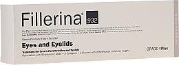 Parfémy, Parfumerie, kosmetika Gel s účinkem vyplňování vrásek kolem očí,úroveň 4 - Fillerina Eyes And Eyelids Grade 4 Plus