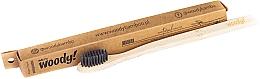 """Parfémy, Parfumerie, kosmetika Bambusový zubní kartáček """"Classic"""" měkký, černý - WoodyBamboo Bamboo Toothbrush Natural"""