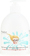 Parfémy, Parfumerie, kosmetika Dětský šampon- gel na vlasy a tělo - Sostar Baby Shampoo Shower Gel Enriched With Organic Donkey Milk