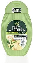 Parfémy, Parfumerie, kosmetika Sprchový gel Zelený čaj a zázvor - Felce Azzurra BIO Creen Tea&Ginger Shower Gel