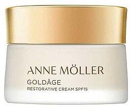 Parfémy, Parfumerie, kosmetika Krém na obličej - Anne Moller Goldage Restorative Cream SPF15