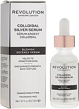 Parfémy, Parfumerie, kosmetika Sérum na obličej - Revolution Skincare Colloidal Silver Serum