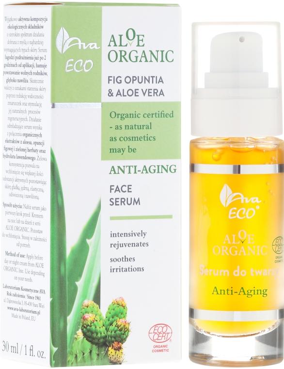 Sérum na obličej - Ava Laboratorium Aloe Organiic Serum