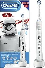 Parfémy, Parfumerie, kosmetika Elektrický zubní kartáček - Oral-B D16 Junior Strar Wars