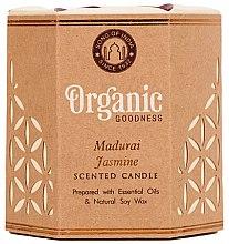 """Parfémy, Parfumerie, kosmetika Aromatická svíčka """"Madurai Jasmine"""" - Song of India Scented Candle"""