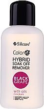 Parfémy, Parfumerie, kosmetika Odlakovač - Silcare Soak Off Remover Black Grape
