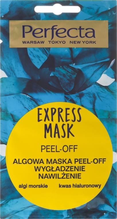 Slupovací maska na obličej s mořskými řasami - Perfecta Express Mask