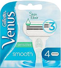 Parfémy, Parfumerie, kosmetika Náhradní kazety na holení - Gillette Venus Smooth Sensitive