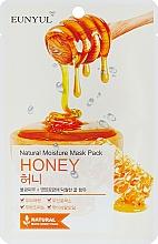 Parfémy, Parfumerie, kosmetika Látková pleťová maska s medovým extraktem - Eunyul Natural Moisture Mask Pack Honey