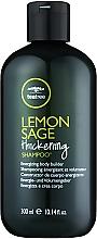 Parfémy, Parfumerie, kosmetika Šampon s výtažky z čajového stromu, citrónů a šalvěje - Paul Mitchell Tea Tree Lemon Sage Thickening Shampoo