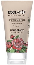 Parfémy, Parfumerie, kosmetika Deodorant Jemná péče - Ecolatier Organic Wild Rose Deodorant