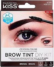 Parfémy, Parfumerie, kosmetika Tint na obočí - Kiss Brow Tint DIY Kit