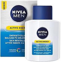 """Parfémy, Parfumerie, kosmetika Balzám po holení dvojí akce """"Nabití energie"""" - Nivea For Men Active Energy Skin Revitalizer After Shave Balm"""