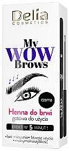 Parfémy, Parfumerie, kosmetika Henna na obočí - Delia My Wow Brows